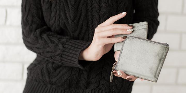 L-Shaped Zipper Wallet Short